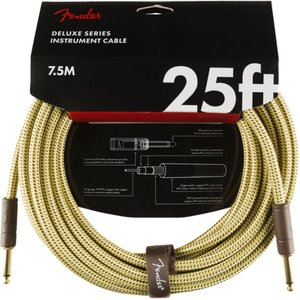 Fender Deluxe Series Instrument Cables SS 25' Twee...