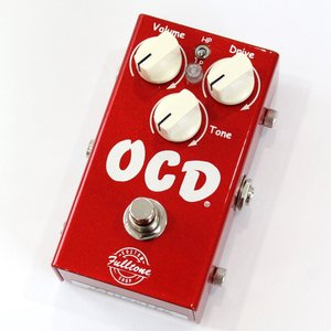 Fulltone Custom Shop Candy Apple Red OCD V2.0 オーバー...