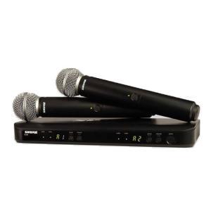 SHURE BLX288/B58 デュアルチャンネル ハンドヘルド型 ワイヤレスシステム