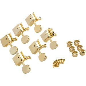 Fender Vintage-Style Strat/Tele Tuners Gold ギターペグ ...