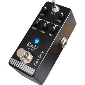 RevoL effects EFD-01 Black Drive アンプエミュレート ドライブペダル...
