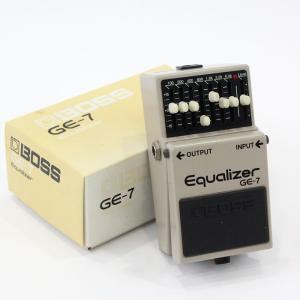 BOSS GE-7 Equalizer の中古品が入荷しました。※本商品は店頭展示品です。細かな擦り...