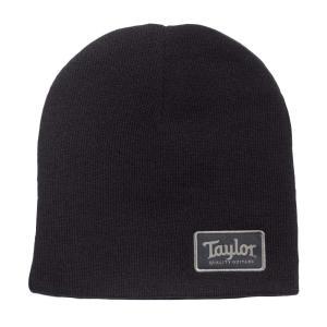Taylor Beanie Taylor Patch Black ニット帽 00114※ご注意下さい...