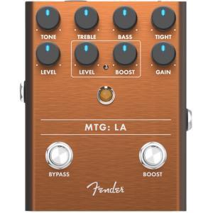 名前が示すように、MTG:LAは我々最愛のMTG Tube Distortionペダルの、ヘアメタル...