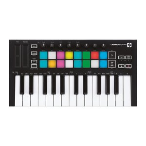 【11月中旬発売予定】 novation MIDIキーボード/コントローラ LaunchKeyminiMK3 ブラックの商品画像 ナビ