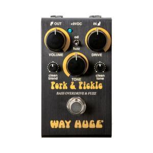 WAY HUGE WM91 Pork&Pickle ファズ オーバードライブ ベースエフェクターの画像