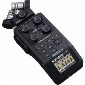 ZOOM H6 Black Handy Recorder ハンディーレコーダー