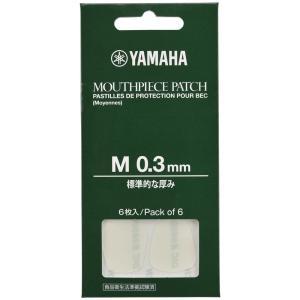 YAMAHA MPPA3M3 マウスピースパッチ Mサイズ 0.3mm 6枚入 chuya-online.com