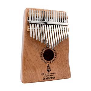 ONETONE OTKL-02/MH マホガニー材採用 カリンバ 17Keys フィガーピアノ