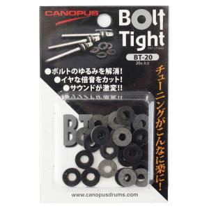 本革に特殊加工を施したワッシャー「Bolt Tight/ボルトタイト」。「簡単に装着でき、思ったとこ...