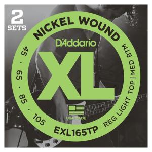 D'Addario EXL165TP Regular Light Top-Medium Bottom...