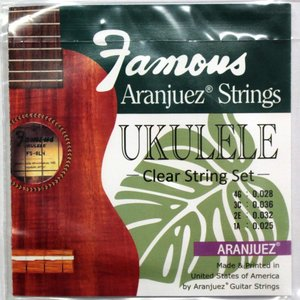 Famous ARANJUEZ弦/CL ウクレレ弦|chuya-online