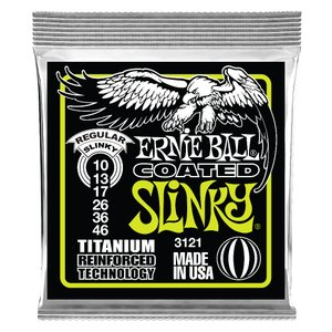 ERNIE BALL 3121/Coated Regular Slinky コーティングエレキギター弦|chuya-online