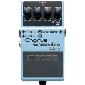 BOSS(ボス) CE-5 コーラスアンサンブル エフェクターです。低域と高域をコントロールする2バ...