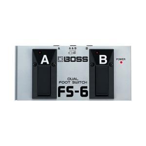 BOSS(ボス) FS-6 フットスイッチFS-6は、すでにFS-5LやFS-5U、BOSSマルチ・...