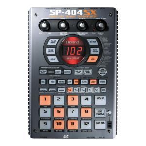 ROLAND SP-404SX サンプラー使い勝手の良さとサウンド・クオリティを刷新。コンパクト・サ...