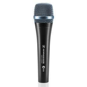SENNHEISER e935 ダイナミックマイクステージ上の音圧レベルが高く、ボーカルだけを通さな...
