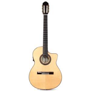 ARIA A-58CWE/M エレクトリッククラシックギター ハードケース付き|chuya-online