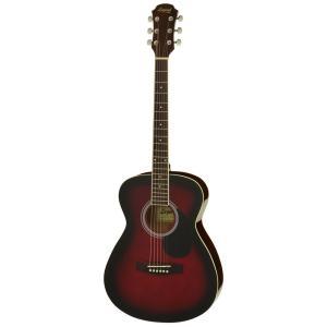 アコースティックギター 初心者  Legend レジェンド 5点 FG-15 RS Red Shade レッドシェイド アコギ