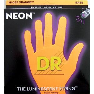 DR NEON ORANGE DR-NOB45 Medium エレキベース弦|chuya-online