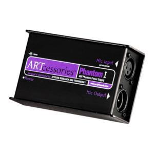 ART Phantom I 48Vファンタム電源供給機Phantom Iは48Vが必要なコンデンサー...