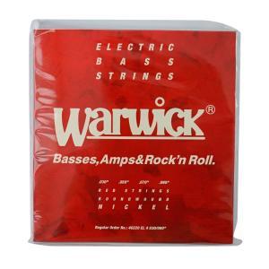 WARWICK 46220 RED nickel 4-string Set EL 030-090 ベース弦|chuya-online