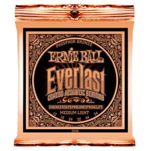 ERNIE BALL 2546 Everlast Coated PHOSPHOR BRONZE ME...