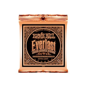 ERNIE BALL 2550 Everlast Coated PHOSPHOR BRONZE EX...