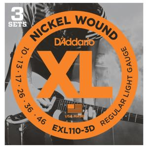 D'Addario EXL110-3D エレキギター弦|chuya-online