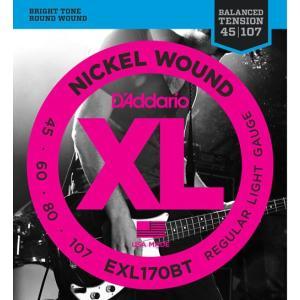 D'Addario EXL170BT Regular Light 45-107 エレキベース弦