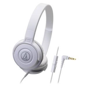AUDIO-TECHNICA ATH-S100iS WH スマートフォン用ポータブルヘッドホン