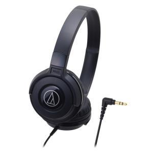AUDIO-TECHNICA ATH-S100 BK ポータブルヘッドホン