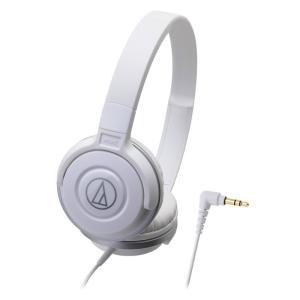 AUDIO-TECHNICA ATH-S100 WH ポータブルヘッドホン