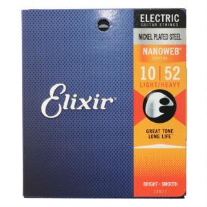 ELIXIR 12077 NANOWEB Light Heavy 10-52 エレキギター弦