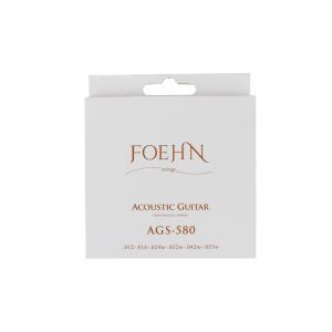 FOEHN AGS-580 Acoustic Guitar Strings Light 80/20 ...