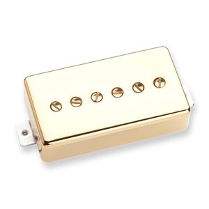 Seymour Duncan SPH90-1b Phat Cat Bridge Gold ギターピッ...