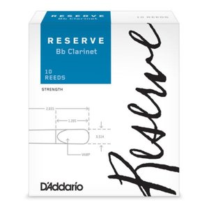 D'Addario Woodwinds/RICO LDADRECL3 レゼルヴ B♭クラリネットリード [3] chuya-online