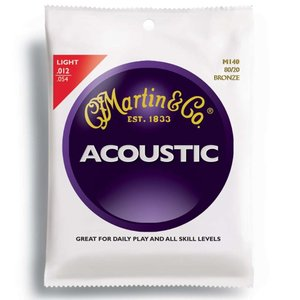 MARTIN M140 Light 12-54 アコースティックギター弦|chuya-online