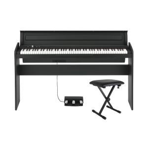 KORG LP-180 BK X型ピアノイス付き 電子ピアノ|chuya-online