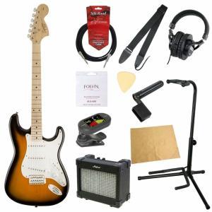 エレキギター入門11点セット Squier Affinity Series Stratocaster 2TS|chuya-online