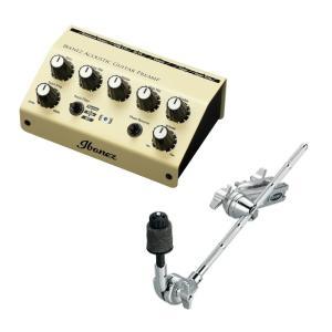 アイバニーズのエレクトリック・アコースティック楽器専用のプリアンプ「IBANEZ AGP10」にスタ...