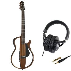 YAMAHA SLG200S NT サイレントギター SDG-H5000 モニターヘッドホン付きセッ...