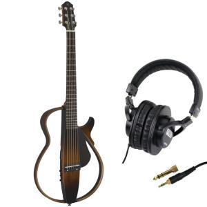 YAMAHA SLG200S TBS サイレントギター SDG-H5000 モニターヘッドホン付きセット chuya-online