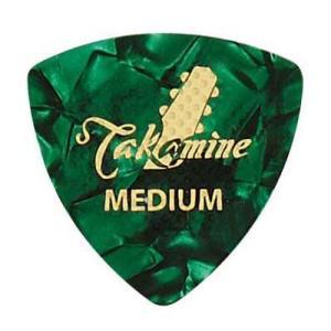 TAKAMINE P1G MEDIUM セルロイド トライアングルピック×10枚。反発性に富む、最も...