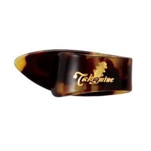 TAKAMINE ミディアム 1.5mm TPT セルロイド サムピック×5枚。標準的なサイズの1....