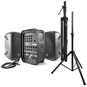 JBL PROFESSIONAL EON208P ポータブルPAシステム Dicon Audio SS-062 スピーカースタンド 2点セット|chuya-online