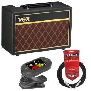 入門用としても定番のギターアンプ「VOX Pathfinder10」にクリップチューナー、ケーブルを...