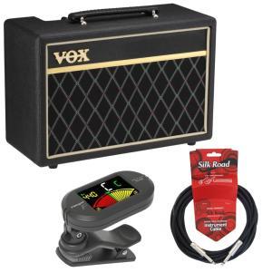 入門用としても定番のベースアンプ「VOX Pathfinder Bass 10」にクリップチューナー...