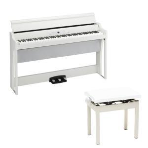 コルグの電子ピアノ「KORG G1 AIR」にイスをお付けしたセット商品です。セット内容:・KORG...