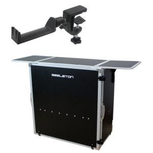 SEELETON SDJT/SMH-1 折りたたみ式 DJテーブル ヘッドホンハンガー 2点セット|chuya-online